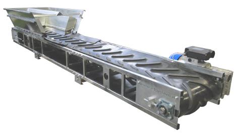 Portable conveyor system for construction   Edilveyor