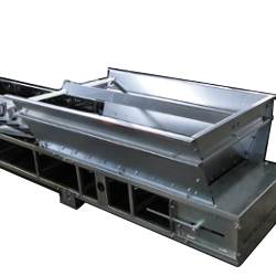 hopper extensions for conveyor system